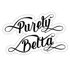 Purely Belta #Newcastle #Geordie die-cut vinyl stickers! Available in different sizes #redbubble #stickers #slang #dialect