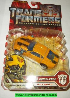 Transformers movie CANNON BUMBLEBEE moc mip 2007 revenge of the fallen action figures