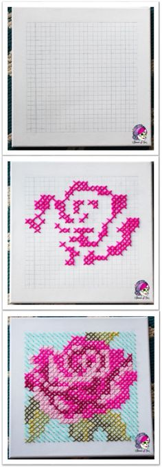 Yarn Canvas Cross Stitch by Glamour4You!  This unique take on traditional cross stitch is fast & easy! You can Glam up any room!! The possibilities are endless!!