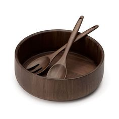 Dansk Salad will become the center of attention when served in the Hamund 3 Piece Salad Bowl Set. Crafted of handsome and durable acacia wood, this bowl will provide years of beautiful use. Wooden Plates, Wooden Ladle, Wood Bowls, Wooden Salad Bowls, Bowl Designs, Wood Lathe, Wooden Kitchen, Wood Turning, Kitchenware