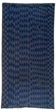 Africa | Pelete Bite (cloth) from the Kalabari Ijo people of Nigeria | Cotton