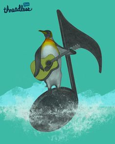 a musical journey Penguins, Musicals, Journey, Tees, Animals, Animais, Chemises, Animales, Animaux