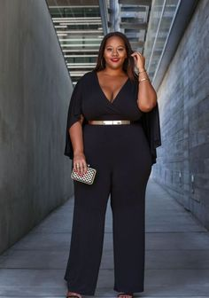 064789014b07d 25 Plus Size Wedding Guest Outfits To Try Plus Size Wedding Guest Outfits,  Jumpsuit,
