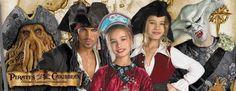 Pirates of the Caribbean #Costumes at Costume Craze!