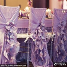 curly willow chair decorations