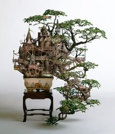 Tiny Worlds: The Stunning Model Buildings of Takanori Aiba