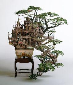 Tiny Worlds: The Stunning Model Buildings of Takanori Aiba