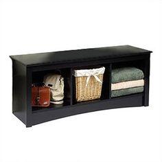 Found it at Wayfair - Prepac Sonoma Storage Bedroom Bench - Finish: Black