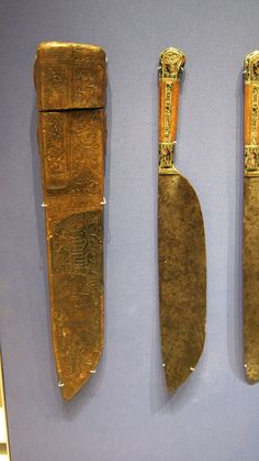 https://flic.kr/p/7qvd1T   Immagine 082   Set di coltelli  Borgogna, Francia British Museum (Londra), inv. PE 1855,1201,118