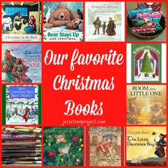 Just as we are intentional to share God's Word throughout the month of December through the Jesse Tree, we also fill our homes with meaningful books to celebrate the reason for the season.  Here are some of our MOST FAVORITE BOOKS!!  http://jessetreeproject.com/?p=45