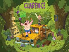 Clarence Cartoon Wallpapers