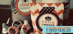 {FREE} Classic Halloween Printables