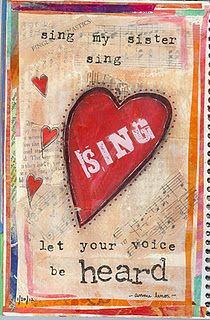 Sing Karaoke Party, Heart Day, Thinking Outside The Box, Songs To Sing, My Crazy, Your Voice, Story Of My Life, Journal Pages, My Sister