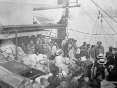 On the Water - Ocean Crossings, Liners to America Huntington Library, Book Background, Time To Leave, Ellis Island, American History, Chinese American, Hawaii Travel, Sailing, United States