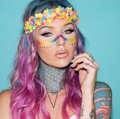 ℒᎧᏤᏋ her amazing rainbow inspired look!!!! ღ❤ღ