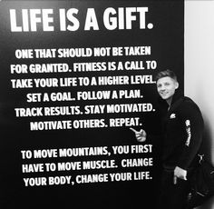 I Commit To Living Life.  #FitMotivation