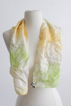 Vintage Ombre Silk Scarf  1960's Japan Scarf by SalvatoCollection, $20.00