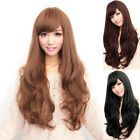 Women Curly Long Straight Wavy Full Wig Black Brown Hair Cosplay Party Costume - All For Colors Hair Curly Wigs, Long Curly Hair, Cheap Cosplay Wigs, Black Brown Hair, Ponytail Hair Extensions, Wig Party, Costumes For Women, Wig Hairstyles, Long Hair Styles