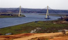 Bridge between Ayamonte and Portugal