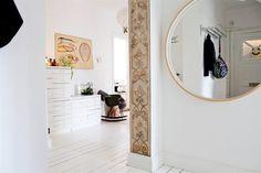 my scandinavian home: Pretty white apartment in Malmö