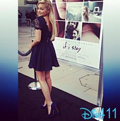 "Photos: Olivia Holt So Pretty At The ""If I Stay"" Premiere August 20, 2014"