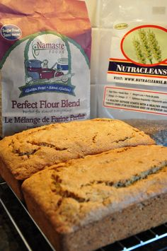 Gluten Free Banana-Apricot Nut Bread Recipe - adapted from the Sunset Breads cookbook 2 cups Namaste Perfect Flour Blend 1 teaspoon gl...