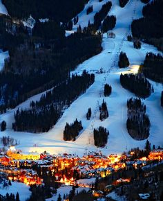 Beaver Creek in Avon, Colorado