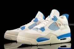 "Air Jordan 4 ""Military Blue"""