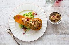 A Vegetarian Alternative to Thanksgiving Dinner - Roasted Butternut Squash on Munchery