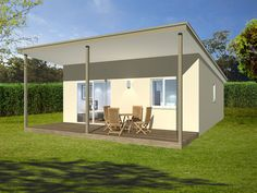 THE CHESTERFIELD -  2 BEDROOMS, BATHROOM WITH WM, KITCHEN, LIVING AND DINING ROOM 51.8 SQM #Granny flat # Teenagers retreat #students rental  #Parents retreat #buildingworksaust.com.au