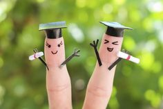 Fingers who just got their diplomas! | 21 Finger Faces That Are Strangely Heartwarming