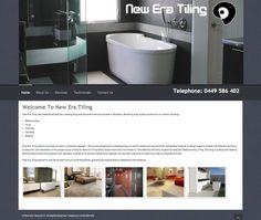New Era Tiling Web Site by Scorched Media - www.scorchedmedia.com.au Brisbane, Portfolio Web Design, Tiling, This Is Us