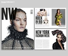 Magazine design.  Andreia Oliveira. MA in Editorial Design IPT, Portugal