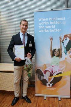 Lämpimät onnittelut Suomen Young Tax Professional of the Year 2014 -voittajalle Vilho Lammille. Lykkyä pyttyyn kansainväliseen loppukilpailuun Amsterdamiin! #EY #tax #YTPY