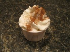 Pumpkin Spice Pudding Shots | Finding Silver Linings:  1 cup whole milk 1 packet pumpkin spice pudding mix 1 regular sized tub of cool whip 1 cup whipped cream vodka a sprinkle of pumpkin pie spice
