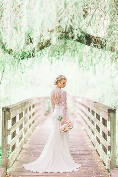 Vintage Glam Wedding Dress Idea - Elegant In Form-and-Flare Wedding Dress + . - Vintage Glam Wedding Dress Idea – Elegant In Form-and-Flare Wedding Dress + Illus … - Bridal Portrait Poses, Bridal Poses, Bride Portrait, Bridal Session, Bridal Shoot, Wedding Portraits, Bridal Gown, Bridal Portraits Outdoor, Portrait Ideas