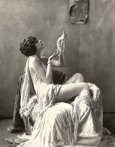 Ziegfeld Model - Risque - 1920s - by Alfred Cheney Johnston