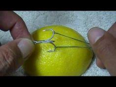 体に刺さった釣り針の抜き方 ストリング・ヤンク・テクニック