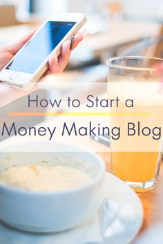 All the ways you can make money from a blog & start a money making blog of your own.