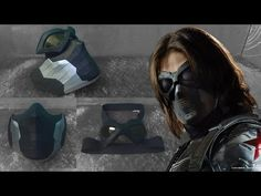 The Winter Soldier Mask Cardboard (Part Winter Soldier Mask, Pepakura Designer, Tap Shoes, Dance Shoes, Electric Mountain Bike, Superhero Cosplay, Cosplay Girls, Two By Two, Costumes