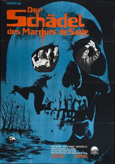 The Skull (1965) of the Marquis de Sade has a way of possessing people. Peter Cushing and Christopher Lee find that out the hard way.