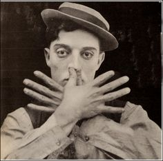 Buster Keaton photographed for The High Sign, 1921