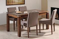 BOCCA ruokailuryhmä (pöytä 140x85cm+4 kangasverhoiltua tuolia) - Ruokailuryhmät ja pöydät | Sotka.fi