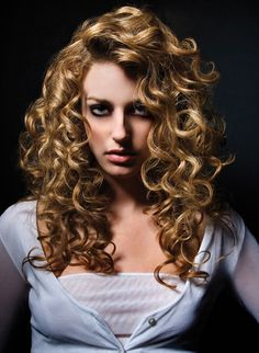 Spiral Perms- To many curls for me, when I get a perm I would tone it down a bit.