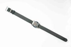 Ladies chrome plated SOS Talisman watchband