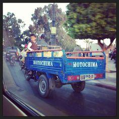 el transporte en Marruecos !!!