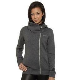 Lifestyle Zip-Up Sweatshirt: There are zip-up sweatshirts. And then there are zip-up sweatshirts with style. Newsflash: this one falls firmly into the latter category. C