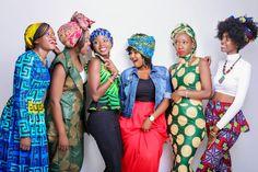 Kenyan fashion bloggers. #africanfashionbloggers African print, kitenge #headwrap #bighair Instagram @wanjikushiko
