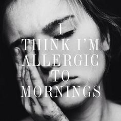 Gorgeous Couture // I'm allergic to mornings