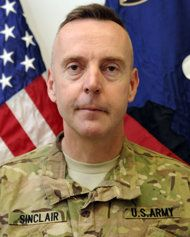 FILE - This undated file photo provided by the U.S. Army shows Brig. Gen. Jeffrey A. Sinclair. Sinclair, who served five combat tours in Iraq and Afghanistan, has been charged with forcible sodomy, multiple counts of adultery and having inappropriate relationships with several female subordinates, two U.S. defense officials said in September. The military judicial hearing scheduled Monday, Nov. 5, 2012, for Brig. Gen. Jeffery Sinclair will be at Fort Bragg in North Carolina. (AP Photo/U.S…